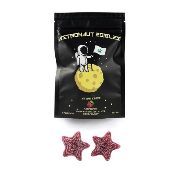 astronaut edibles products raspberry